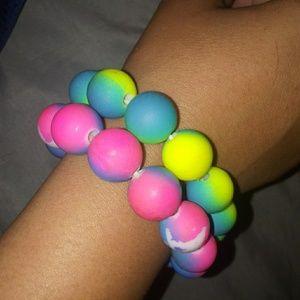 Chinese boba bracelets